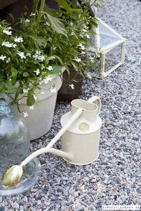Haws vattenkanna 1 liter Indoor - Creme